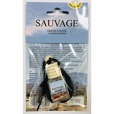 Ароматизатор в машину Christian Dior Sauvage 5 ml