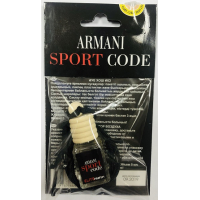 Ароматизатор в машину Giorgio Armani Armani Code Sport 5 ml